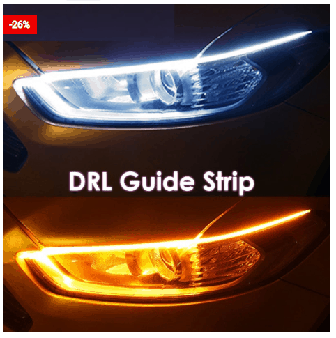 Daytime Running Lights Car Accessory