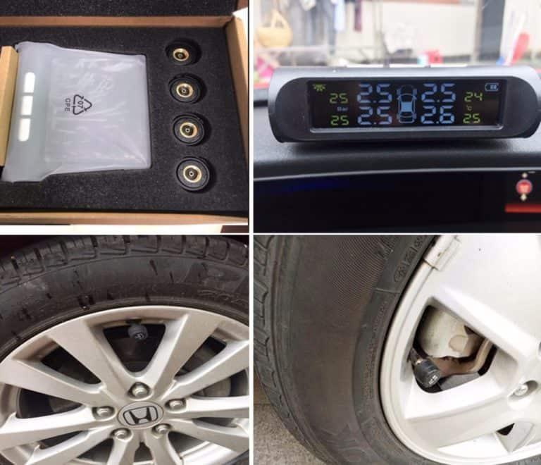 Solar Powered Tire Pressure Monitor