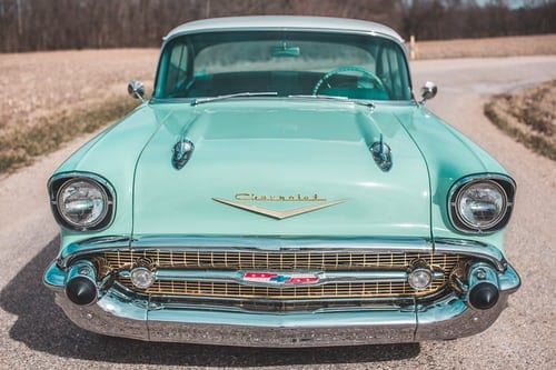 different types of famous Vintage cars